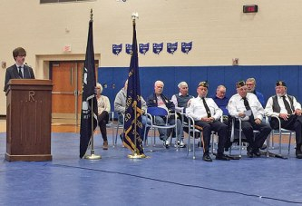 Riverdale senior remembers sacrifices made by veterans