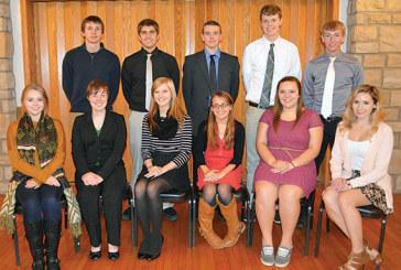 Elks lodge honors Teens of the Month