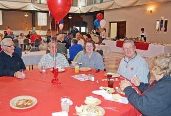 Dinner for veterans