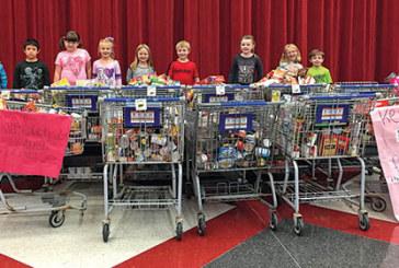 KES food drive donation