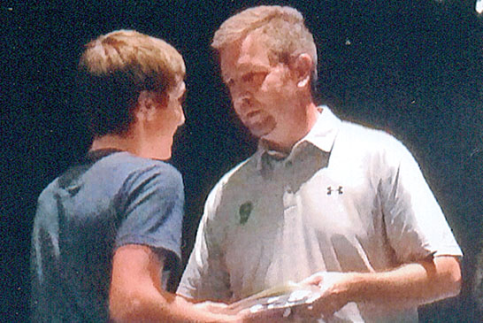 All-conference golf honor featured