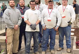 Hi-Point students place third in landscaping competition