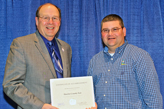 County fair recognition featured