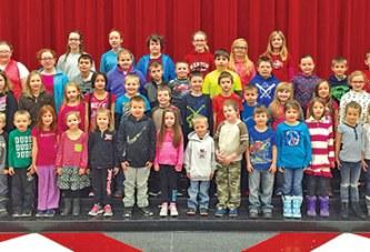 Kenton Elementary recognizes 'willpower' virtue