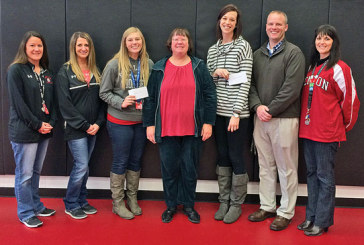Kappa shows appreciation to newer area teachers