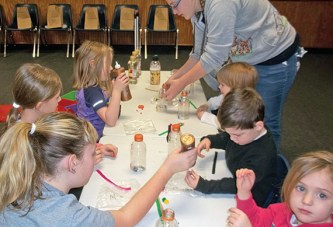 Variety of activities for kids at Silly Saturday program
