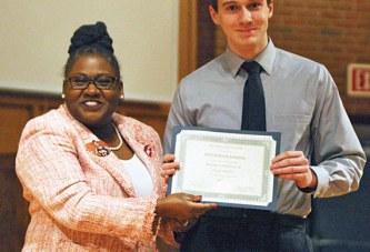 MLK essay contest winner
