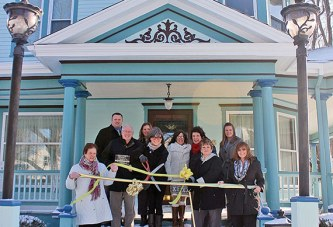 Ribbon cut at B&B