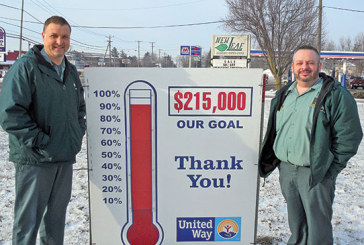 United Way campaign finishes at 92% of goal