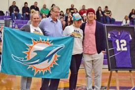 Ada High School retires number worn by alum Zac Dysert