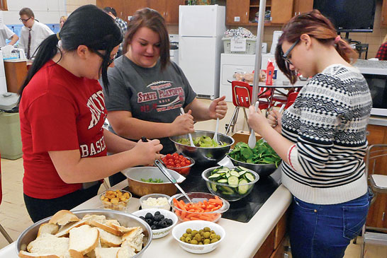 KHS club learns about cultures, food