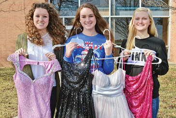 Program helps girls with expensive prom dresses