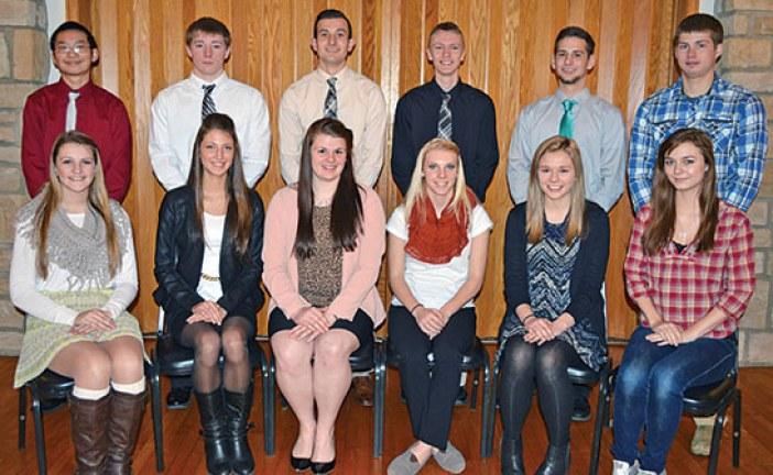 Elks salutes January's top teens