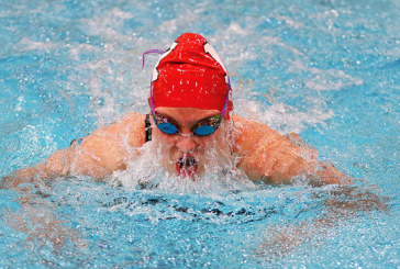 Gray makes podium in state swim meet