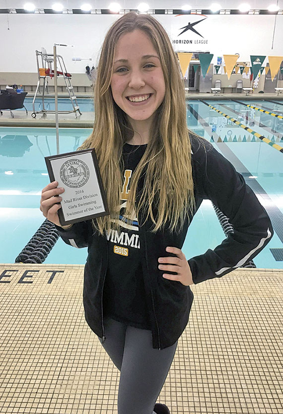 Swimmer of the year