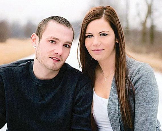Tyson Kelly and Heather Phillips