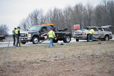 Five injured in U.S. 30 crash