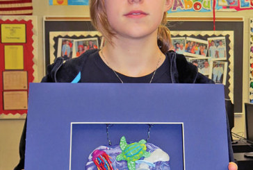 BLMS students' artwork on display in Columbus
