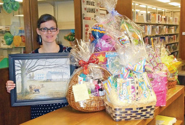 Basket auction set for Dolly Parton Imagination Library