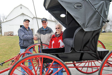 Couple donates restored Kenton-made carriage to Hardin Co. Historical Museum