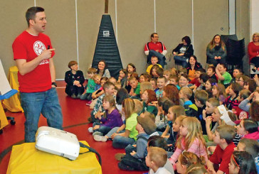 Kenton students hear from illustrator of popular book