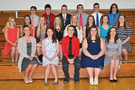 Honor Society Inductees