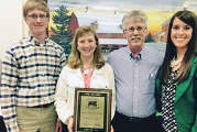 Awards presented at Cattle Producers banquet