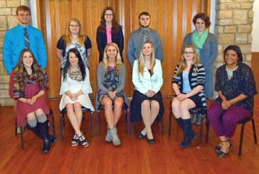 Elks honors top teens for April