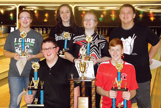 Top youth bowlers