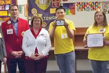 Hardin County Leo Club honored