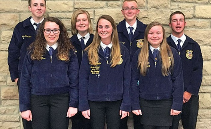 Ben Logan FFA officer training
