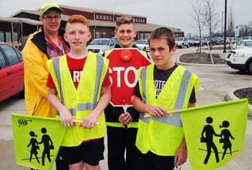Kenton Elementary starts crossing guard program