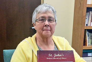 Keeping pastor 'on task' one of JoAnn Erwin's roles at St. John's