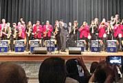 Performing at Ben Logan