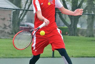 Wildcat tennis wins