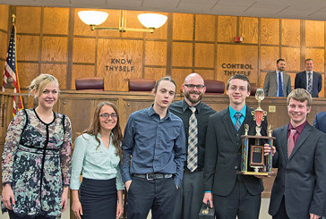 KHS teams successful at law contest