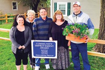 Mt. Victory CIC presents Property Improvement Award