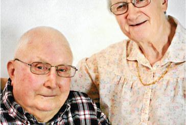 Couple celebrates 68th