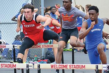 Pair of Kenton athletes just short of state