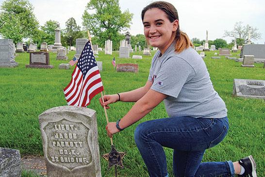 Decorating graves