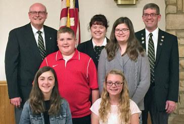 Kenton Elks honors winners of Americanism contest