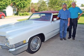 Car once owned by TV talk show host will be featured at Mount Victory event