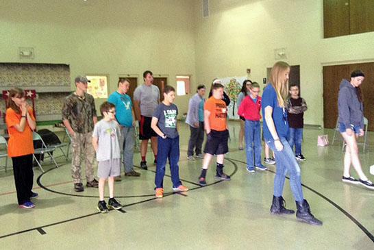 Goshen youth dance