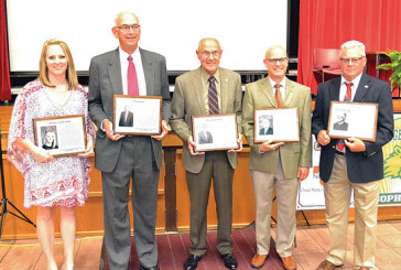Six inductees, ONU team join Hardin County Sports Hall of Fame