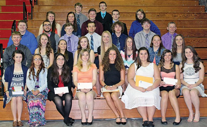 KHS students receive awards and scholarships