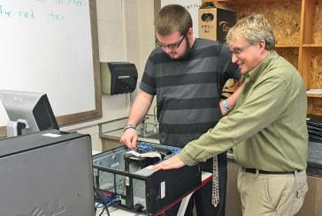 Tech coordinator turns teacher, gains new perspective on job