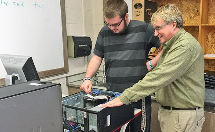Tech coordinator turns teacher, gains new perspective on job