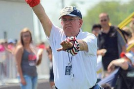 Long-time track official from Forest retires