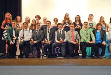 Students receive TAB awards for their stage performance