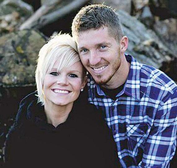Tesia Ferrell and Justin Frey